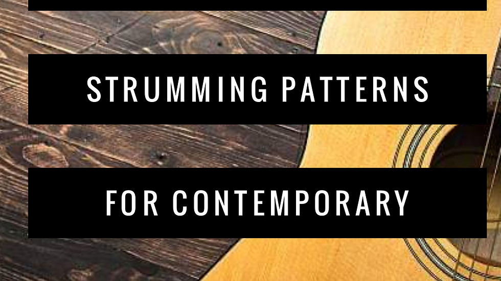 The 8 Main Strumming Patterns for Contemporary Music