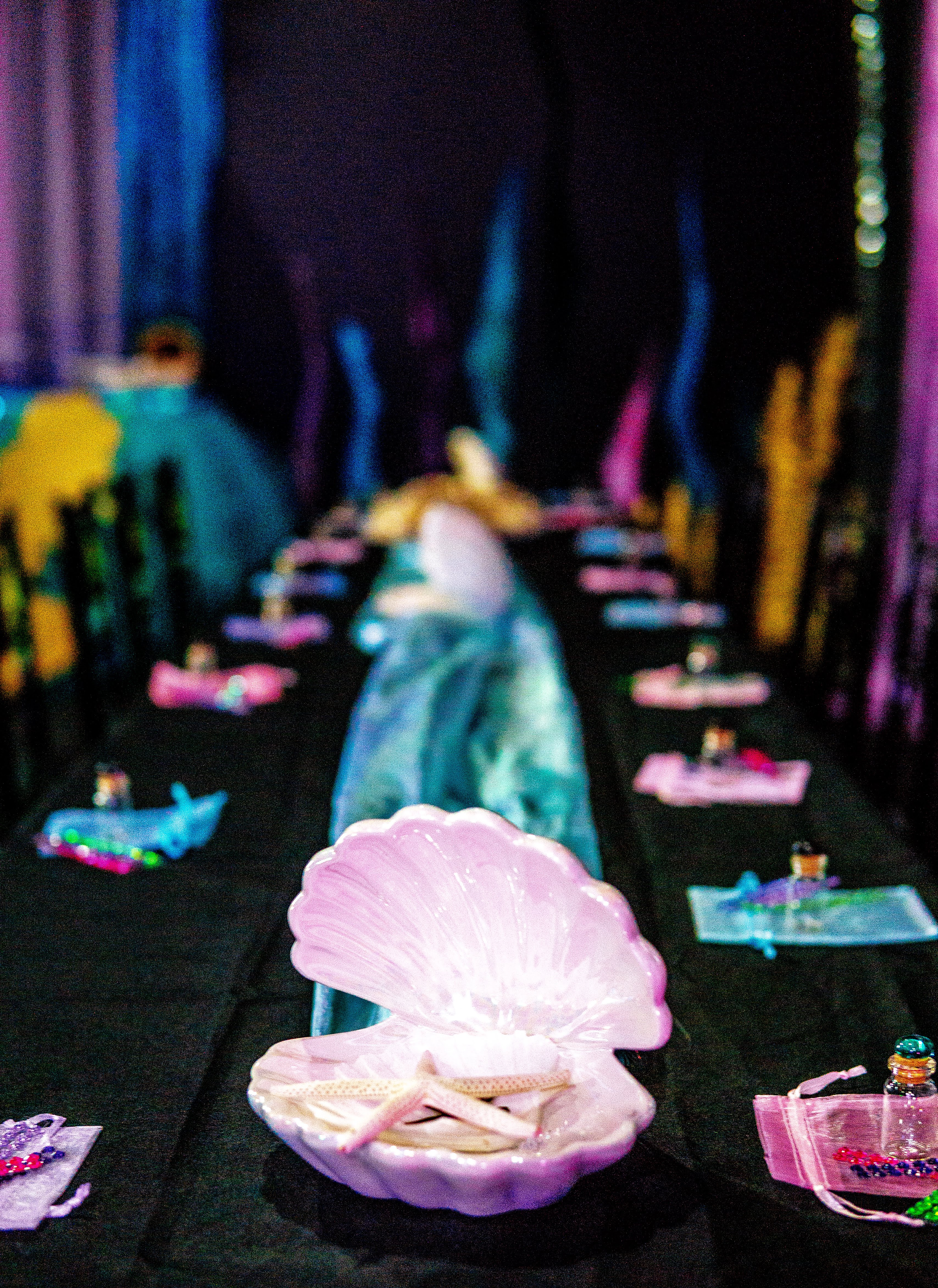 under the sea table set up