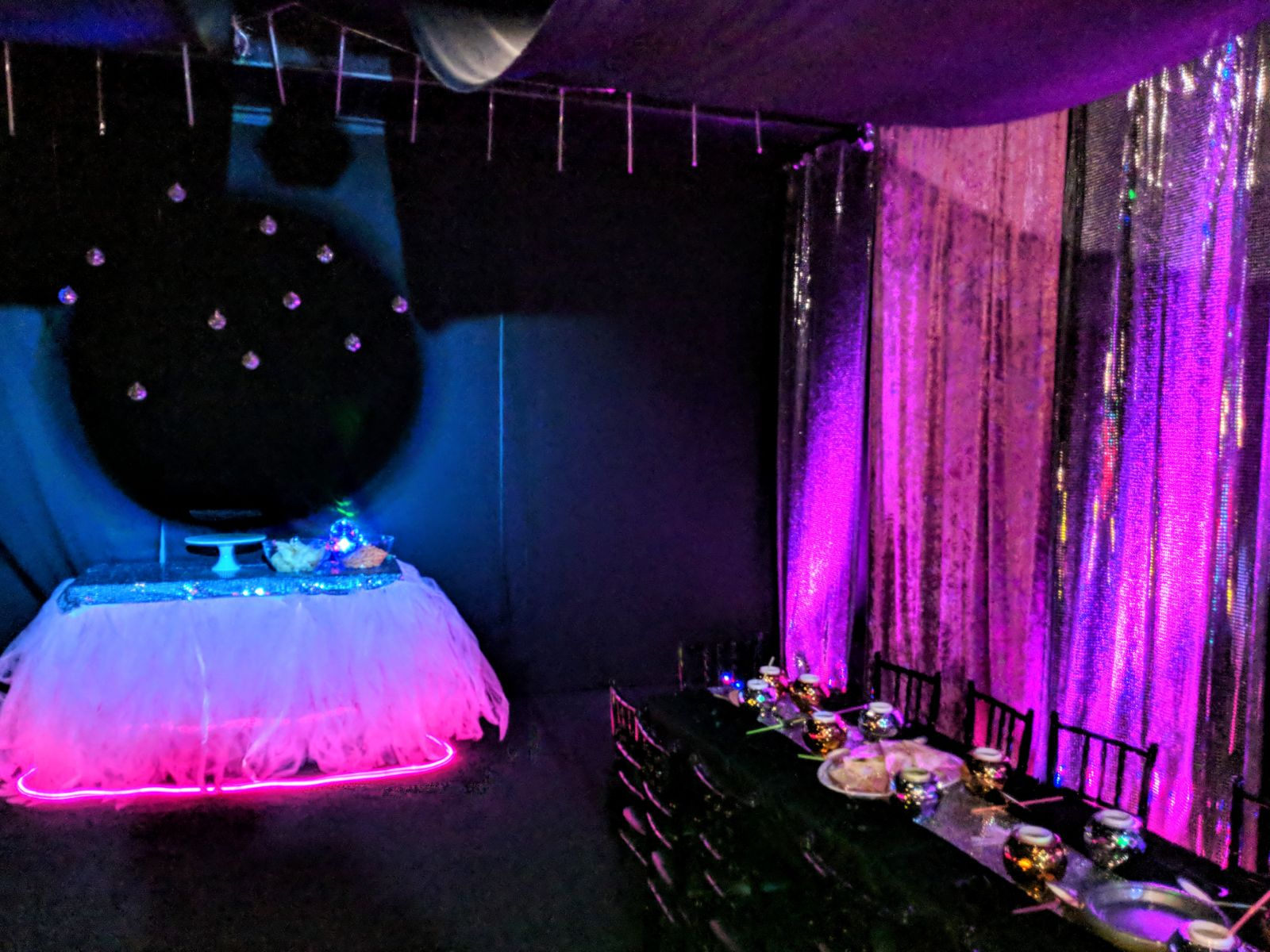 Disco Theme room