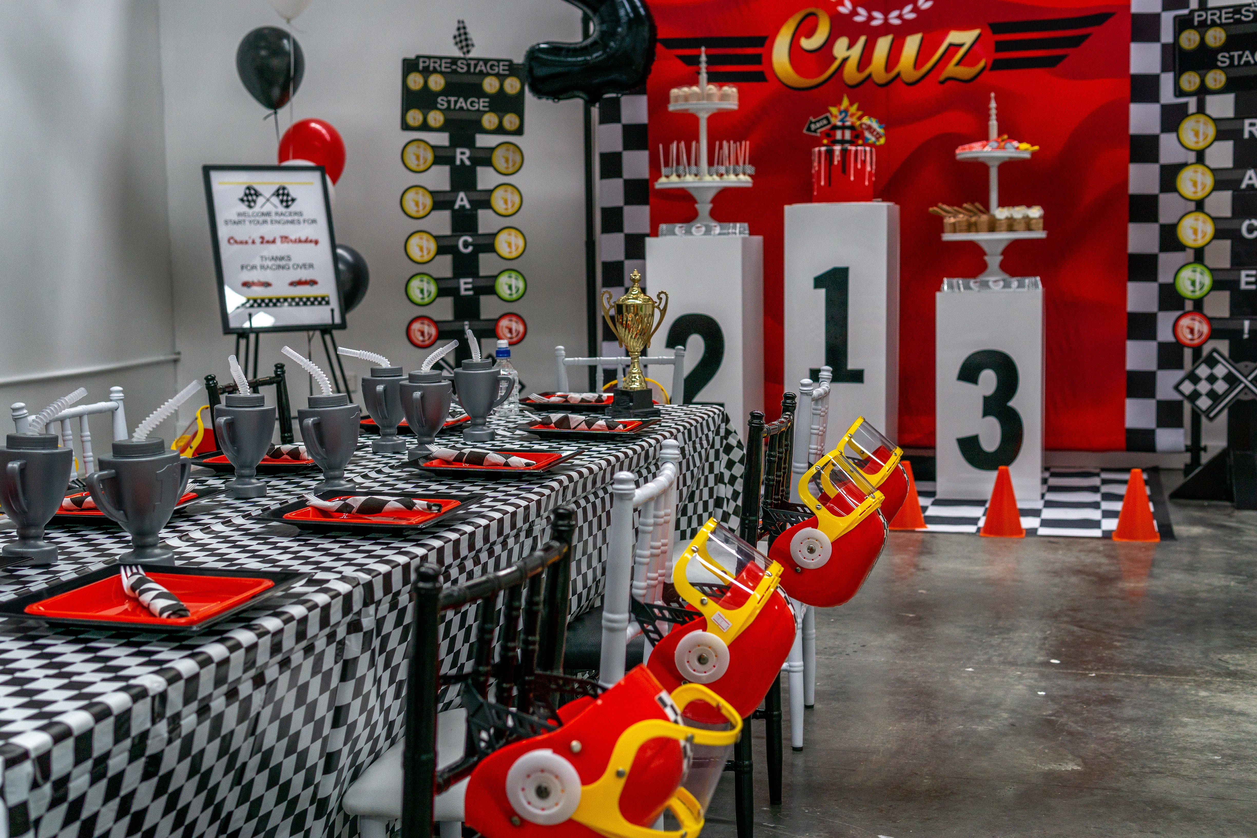 Cars themed party 3