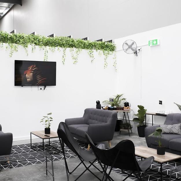 Tea and coffee lounge