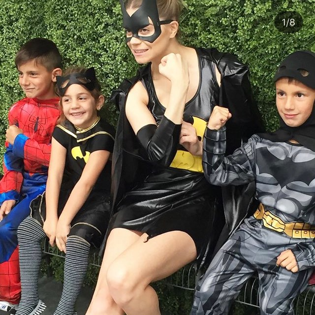 batgirl and party guests