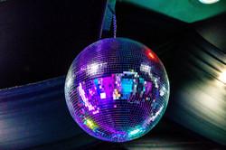 dazzling disco ball