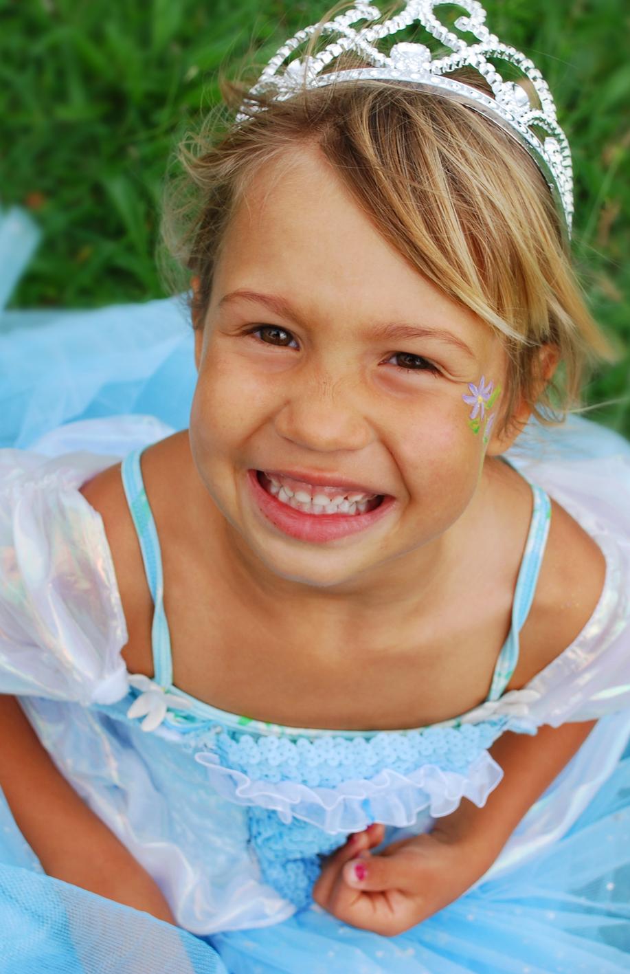 Princess Face Painting - image via iStock