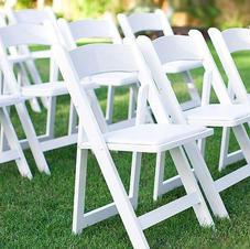 White  Americana chairs