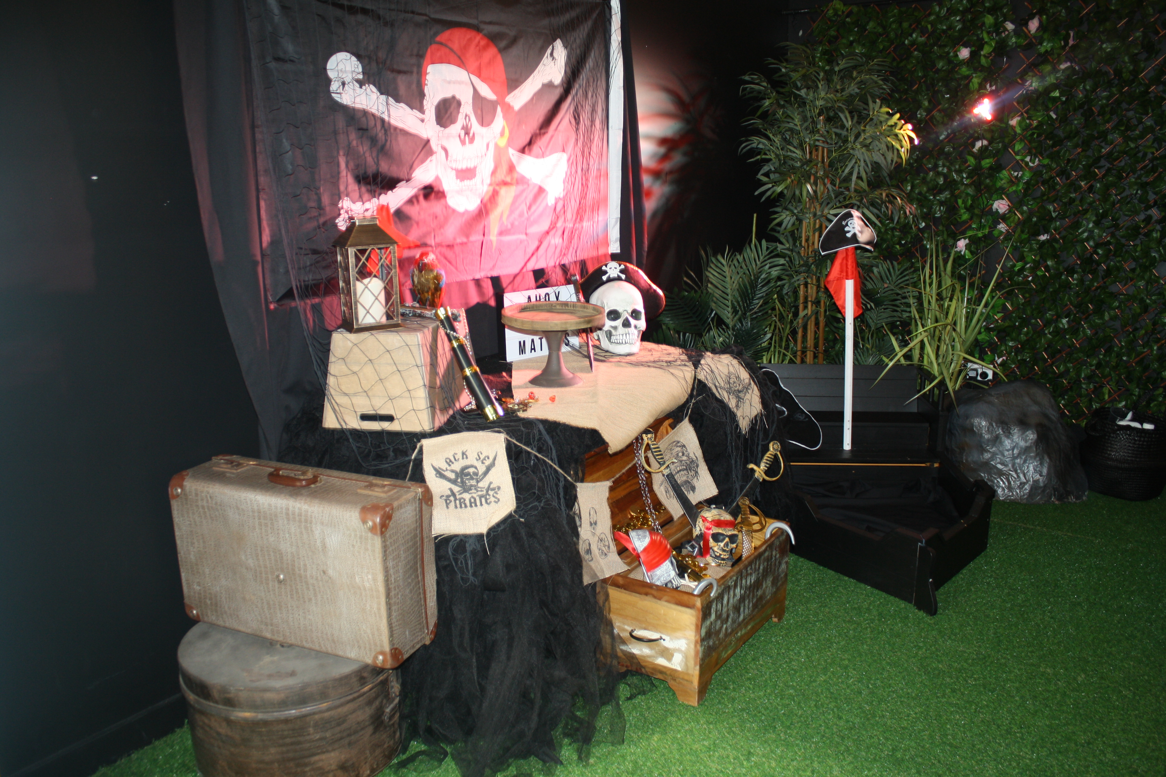 Pirate Theme in the Enchanted Garden