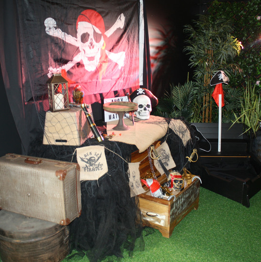 Pirate decorations