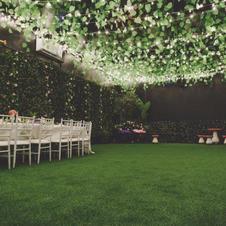 Enchanted garden space