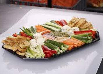 Dips and Crackers Platter