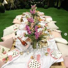 Enchanted Garden room bridal shower