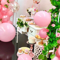 First birthday pinks and florals