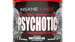 PSYCHOTIC pre workout dietry supplement