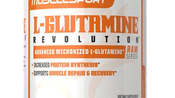 L-Glutamine muscle building