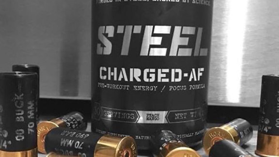Steel CHARGED-AF pre workout