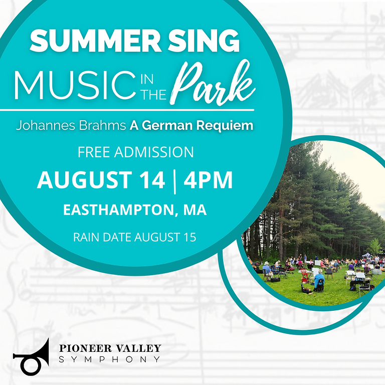 Summer Singalong: Brahms GERMAN REQUIEM - LIVE