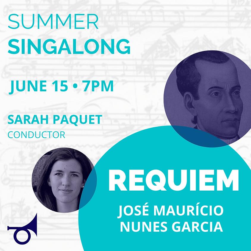 Summer Singalong: José Maurício Nunes Garcia REQUIEM