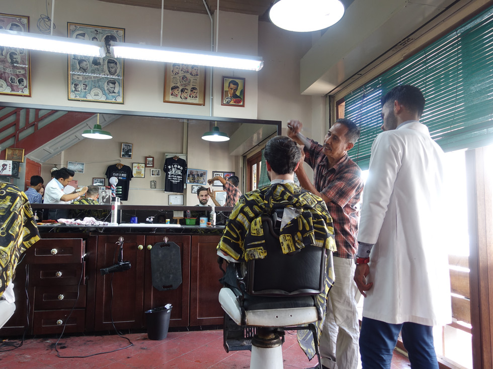 Two haircuts for the price of one in Penang !
