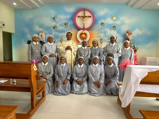 Final vows of Sr Paripurna