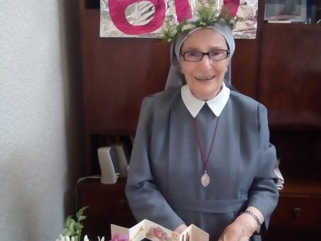 60 ANNI DI PROFESSIONE RELIGIOSA DI SUOR FELICITAS