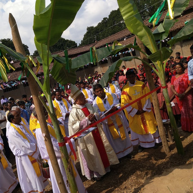 inaguration of convention in the village