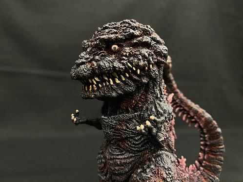 Shin Godzilla 4th Version Deforeal Art Statue 完成品 原型長岡友吾