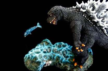 GMK Godzilla Vs Special Submarine Satsuma