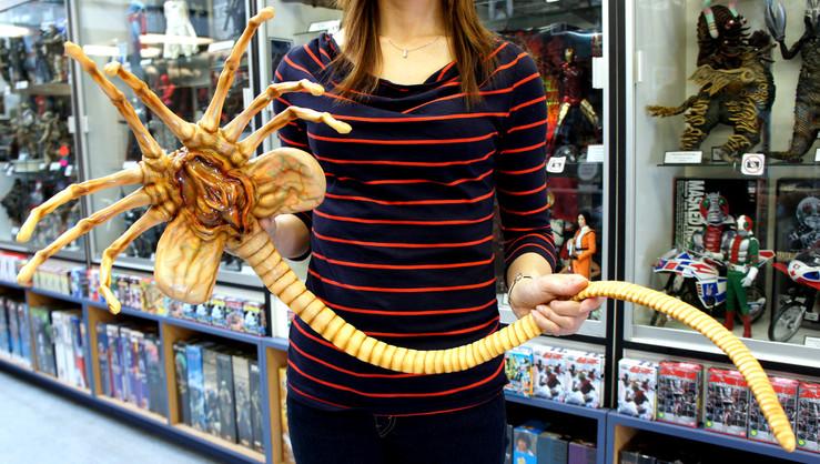 Alien Facehugger Life Size 1/1 Studio Scale Stop-Motion Armature Prop