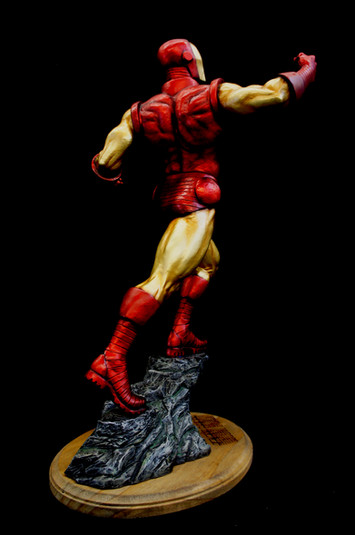 Iron Man Art Statue Renewal