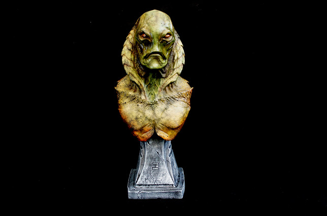 Gillman Creature Bust