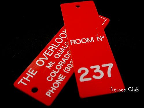 シャイニングルーム237キータグプロップレプリカオーバールックホテルスタンリーキューブリックオーセンティック