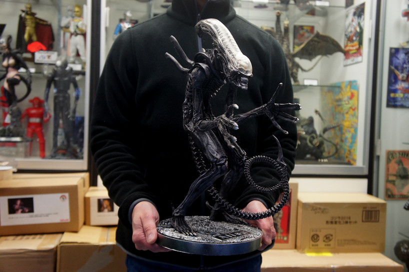 エイリアン 45 cm 原型: 竹谷隆之—