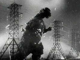 1954 Godzilla Electric Towers