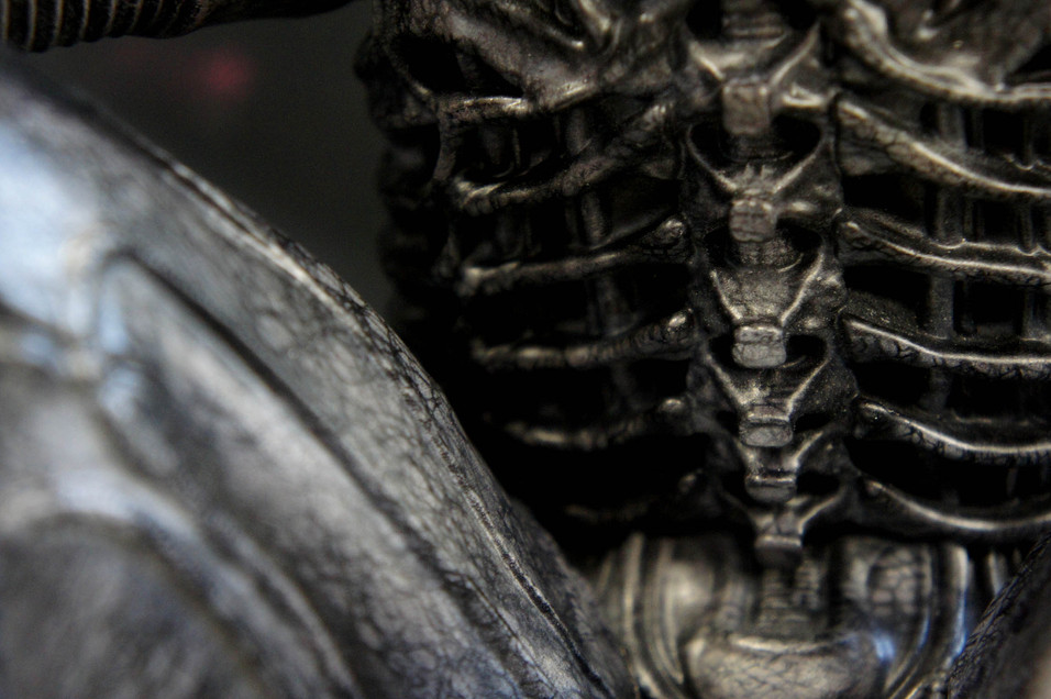 H.R. Giger Big Chap Alien version 3.0