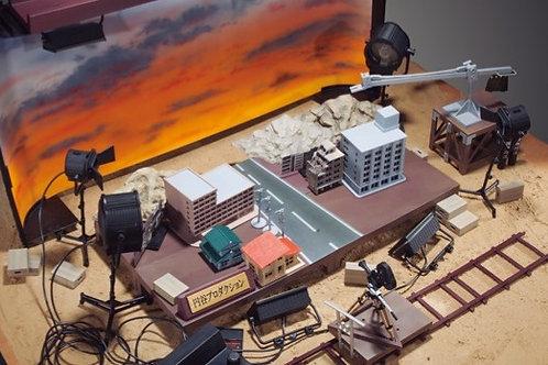 Tsuburaya SFX Diorama set