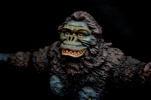 Toho King Kong 30 cm Art Statue God Of the South Sea 南海の魔神 キングコング