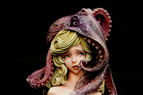 Sorrow Octopus Art Statue Japan Anime WF 2019 哀ちゃん