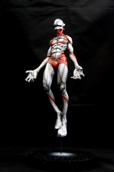 An Artistic Interpretation of Ultraman