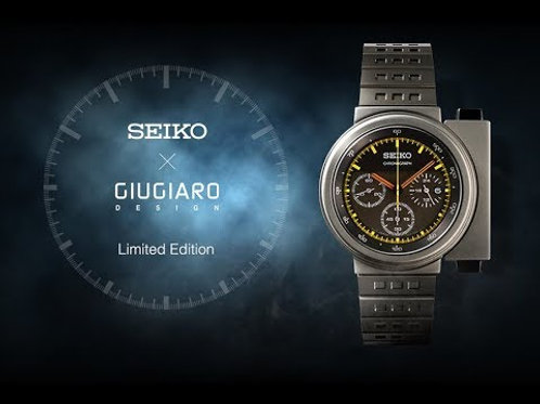 Aliens Ripley's Watch Seiko X Giugiaro Design Spirit Smart Watch