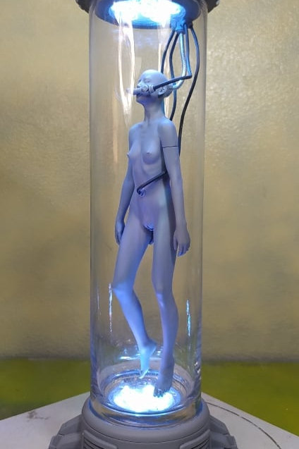 Woman In Tube 1:6 scale 53 cm resin cast model WF Limited