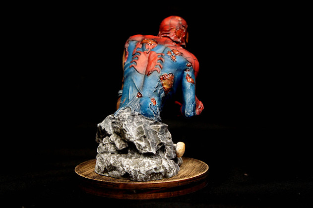Zombie SpiderMan Bust
