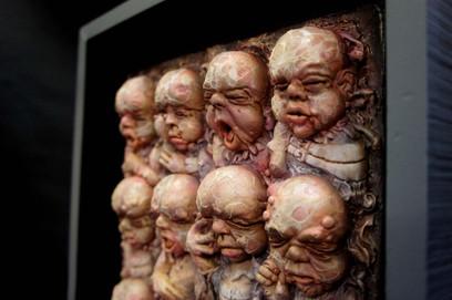 Giger Babies Artistic Interpretation