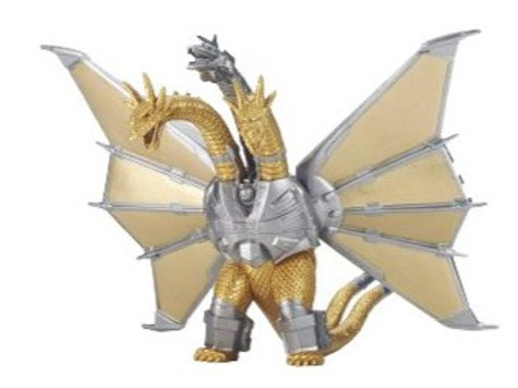 Godzilla Movie Monster Series Mecha King Ghidorah vinyl