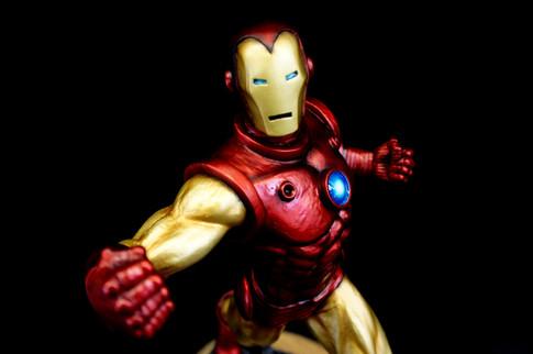 Iron Man Art Statue Renewal
