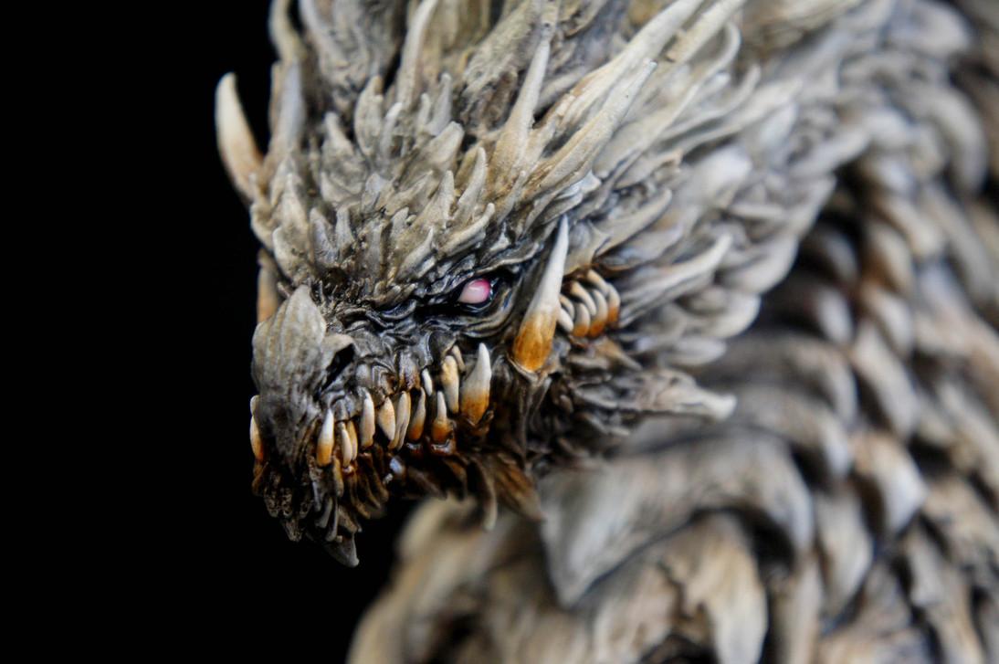 Dragon Head Bust 岡田恵太