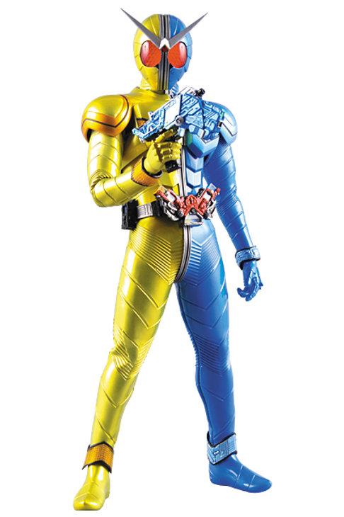 仮面ライダーWルナトリガー1:6フィギュアBMプロジェクトRAH仮面ライダーW(ルナ着)