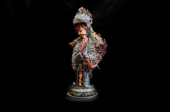 羽化齊天大聖像