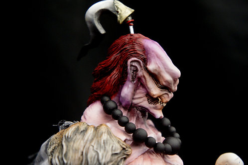 雨宮慶太: Hellpainter Red Mausium Ajari 30 cm Art Statue