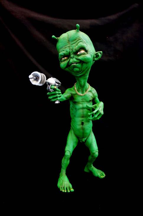 Little Green Man Martian