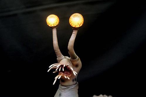 ウルトラQ:マスモンスターナメゴンアートスタチュー火星怪獣ナメゴ