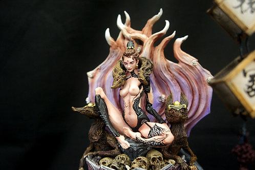Fox Girl Reincarnation Art Statue 生肖守護神 重生軒轅塚
